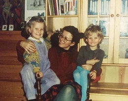 Anna Lewandowska z mamą, Maria Stachurska