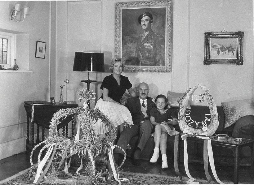 Anna Maria Anders z rodzicami