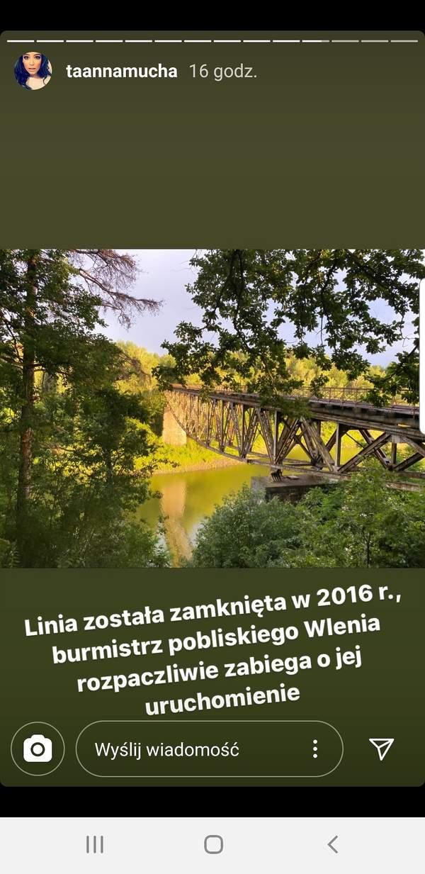 Anna Mucha do Toma Cruise'a, Pilichowice, most na Dolnym Śląsku