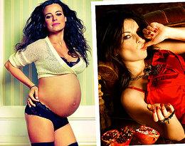 Figura, Urbańska, Mucha... Zobacz gwiazdy w ciążowych sesjach VIVY! EKSKLUZYWNE VIDEO