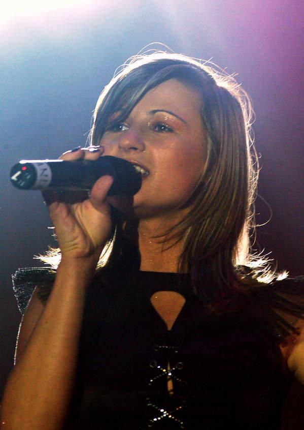 Anna Świątczak, występ zespołu Ich Troje, 03.08.2003 Sopot