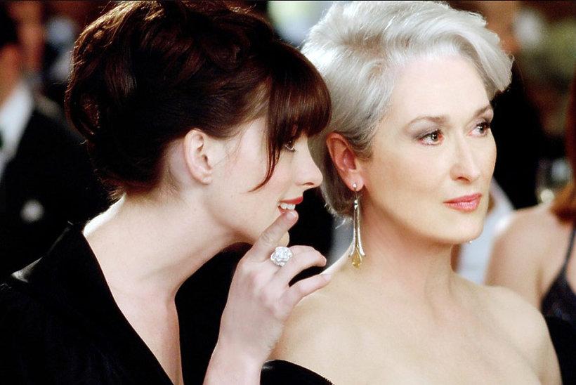 Anne Hathaway, Meryl Streep, Diabeł ubiera się u Prady (2006), The Devil Wears Prada