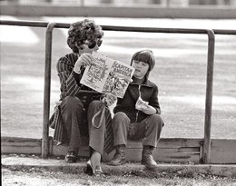 Audrey Hepburn z synem Lucą