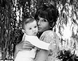 Audrey Hepburn z synem Lucą w 1970 roku