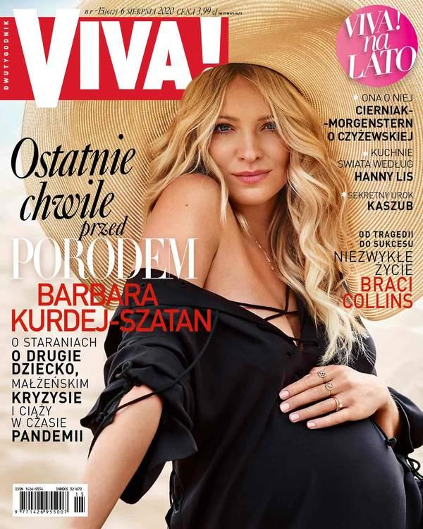 Barbara Kurdej-Szatan, Viva! 15/2020 okładka MNIEJSZA NA STRONĘ