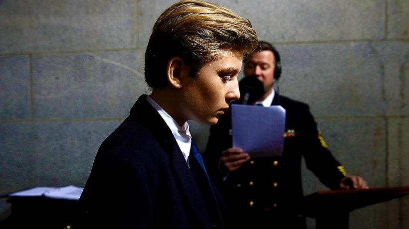 Barron Trump, Donald Trump, Kathy Griffin, odcięta głowa Trumpa