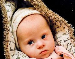 Bartek Królik pokazał zdjęcie córki z zespołem Downa, Jagódki