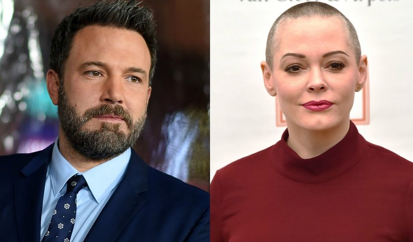 Ben Affleck, Rose McGowen