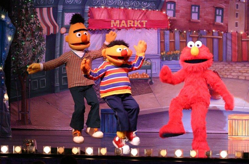 Bert i Ernie z Ulicy Sezamkowej są gejami