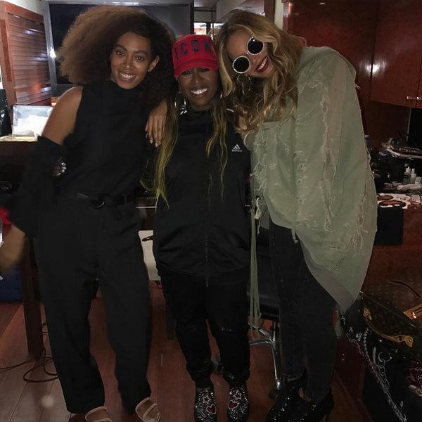 Beyonce na koncercie Missy Eliot, Beyonce po ciąży