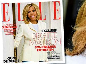 Birigitte Macron w wywiadzie dla francuskiego Elle