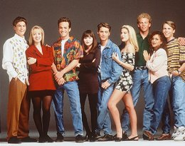Bohaterowie Beverly Hills 90210: Perry, Doherty, Spelling, Priestly