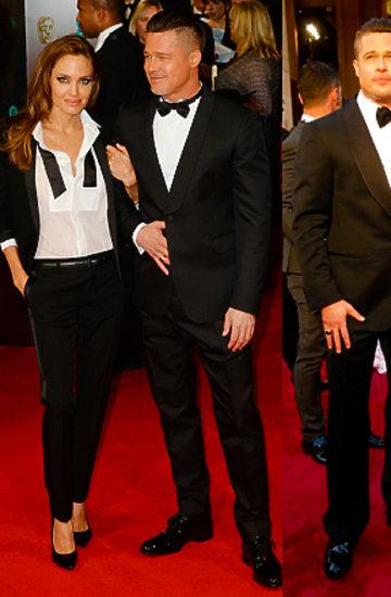 Brad i Angelina na czerwonym dywanie