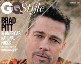Brad Pitt, sesja w GQ