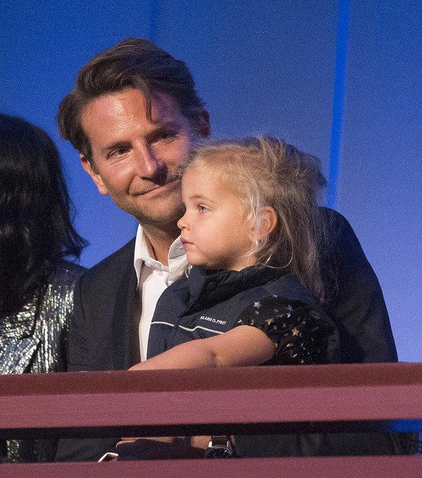 Bradley Cooper, córka, Lea De Seine, 27.10.2019