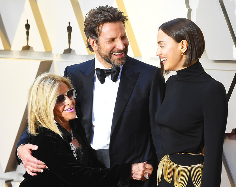 Bradley Cooper, Gloria Cooper, Irina Shayk