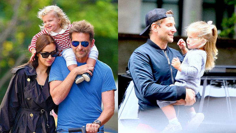 Bradley Cooper, Irina Shayk, córka Bradleya Coopera