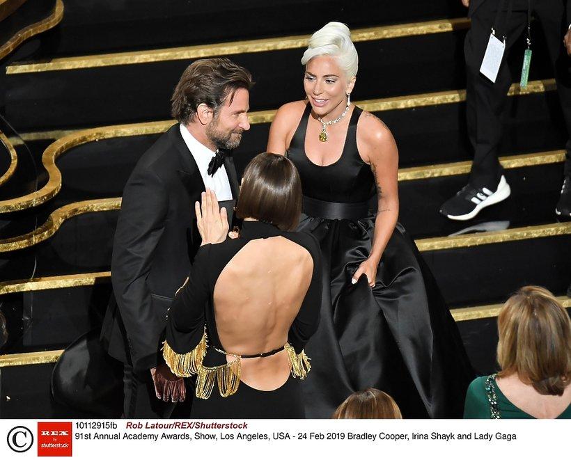 Bradley Cooper, Lady GaGa i Irina Shayk - Oscary 2019. Prawa o ich relacji