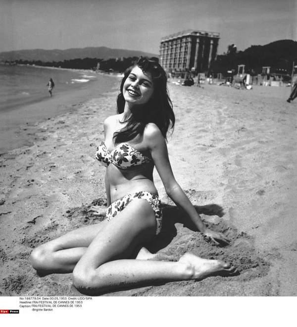 Brigitte Bardot, festiwal w Cannes 1953 rok