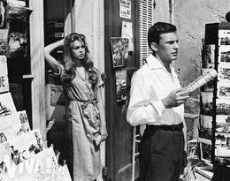 """Brigitte Bardot i Jean-Louis Trintignant na planie """"I Bóg stworzył kobietę"""""""