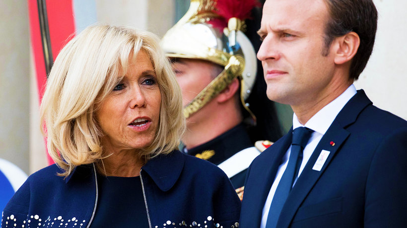 Brigitte Macron boi się, że Emmanuel Macron ją zdradzi