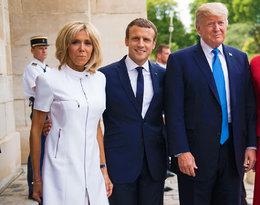 Słowa Donalda Trumpa o Brigitte Macron wywołały skandal. Prezydent USA jest seksistą i mizoginem?