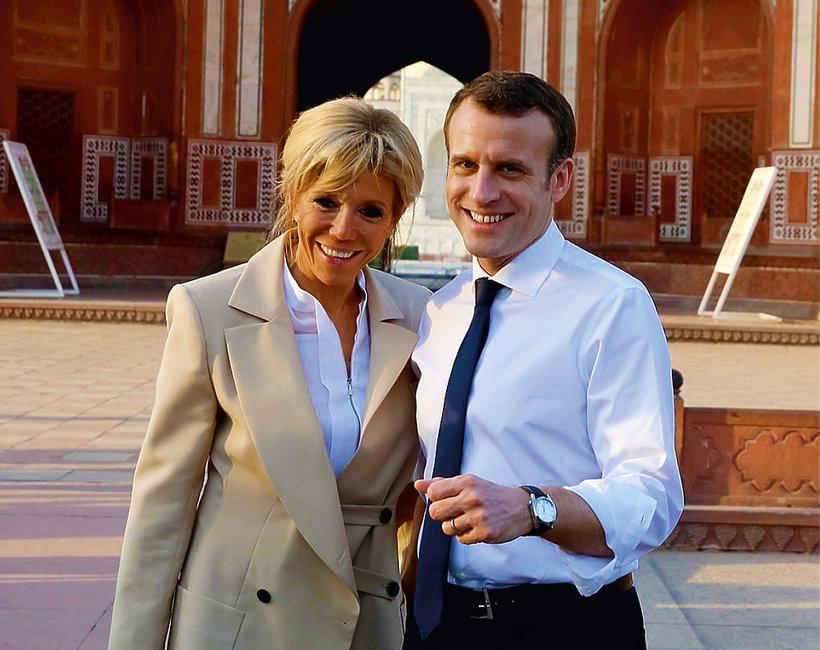 Brigitte Macron nie chciała wziąć ślubu z Emmanuelem