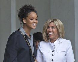 Brigitte Macron, Rihanna, Rihanna spotkała się z Brigitte Macron