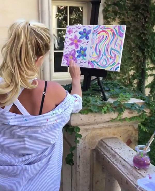 Britney Spears malarką
