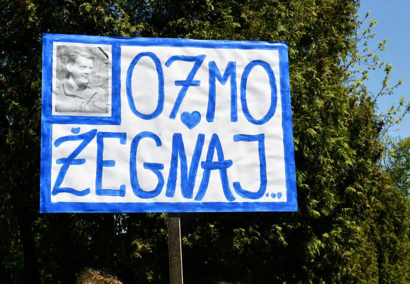 Bronisław Cieślak, pogrzeb Bronisława Cieślaka, 10.05.2021 rok