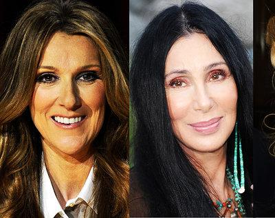Celine Dion, Cher, Madonna, Adele, największe światowe diwy