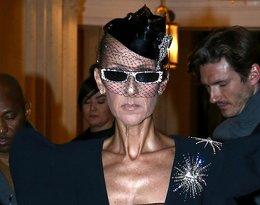 Celine Dion w Paryżu bez stanika i w dziwnych okularach