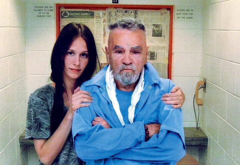 Charles Manson i Afton Burton