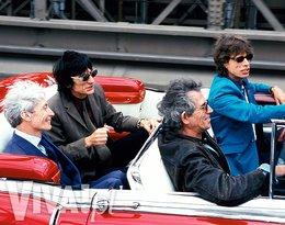Charlie Watts, Ronnie Wood, Keith Richards i Mick Jagger, Nowy Jork,  sierpień 1997 roku