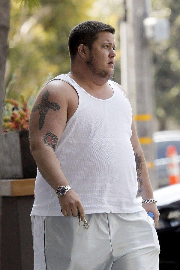 Chastity Bono już jako Chaz Bono, syn Cher, sierpień 2011