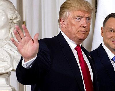 Cher, Andrzej Duda, Donald Trump