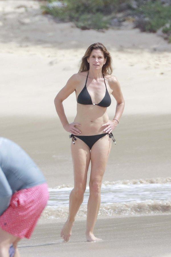Cindy Crawford, seksowne pięćdziesięciolatki