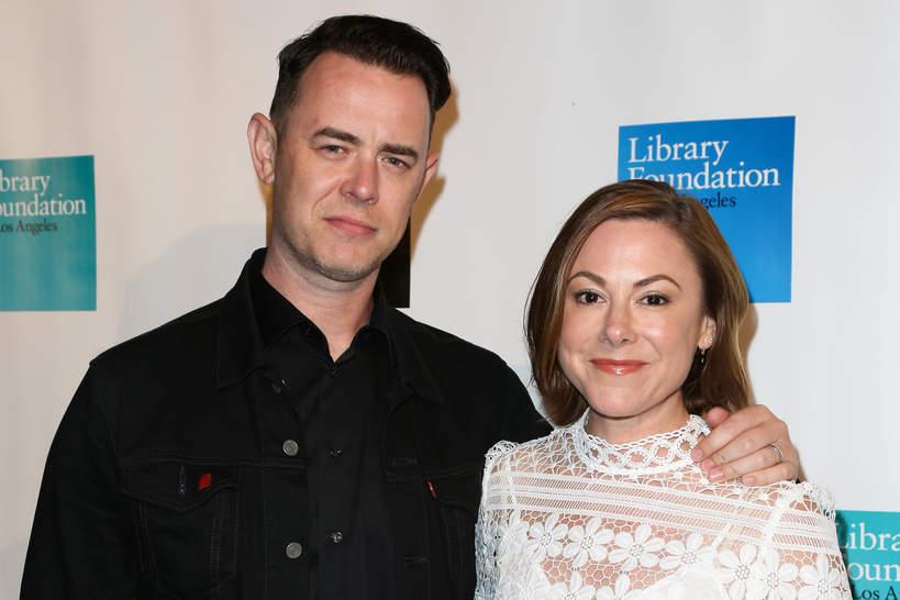 Colin Hanks, żona Samantha Bryant, 06.04.2019