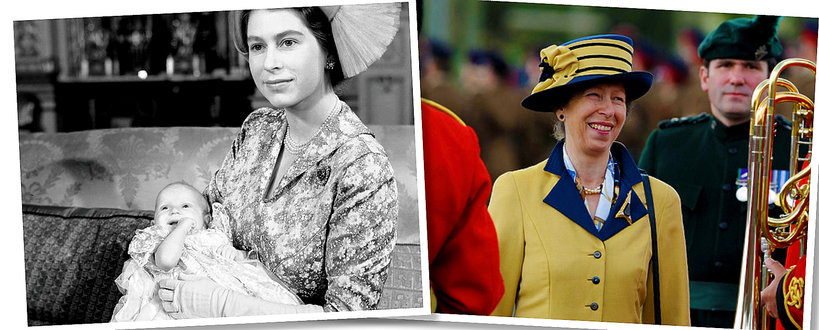 Córka Elżbiety II, księżniczka Anna