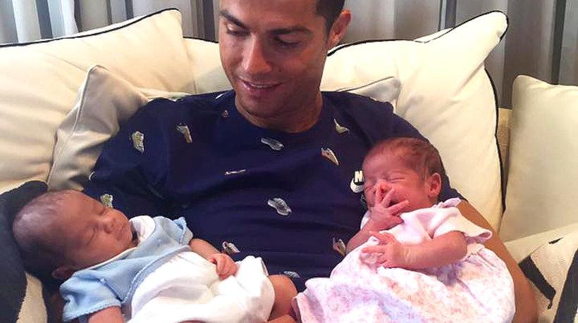 Cristiano Ronaldo, dzieci Cristiano Ronaldo, Cristiano Ronaldo Junior, Georgina Rodriguez