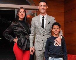Cristiano Ronaldo i Georgina Rodriguez oraz Cristiano Ronaldo Junior