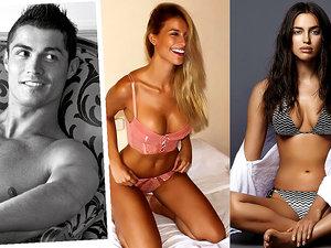 Cristiano Ronaldo, Irina Shayk, Nikoleta Lozanova, Desire Cordero