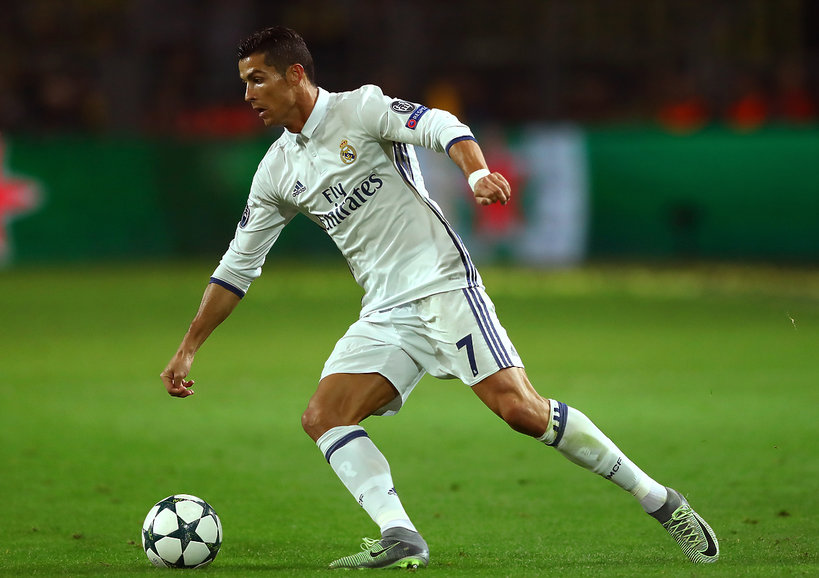 Cristiano Ronaldo mecz Real Madryt