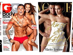 Cristiano Ronaldo, okładki