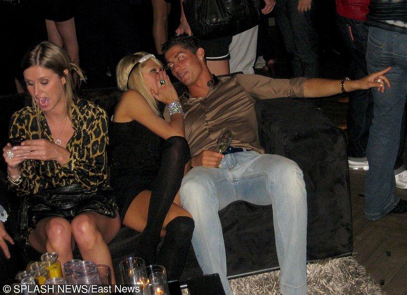 Cristiano Ronaldo, Paris Hilton