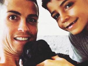 Cristiano Ronaldo, syn Cristiano Ronaldo, Cristiano Ronaldo Junior, Cristiano Ronaldo ojciec