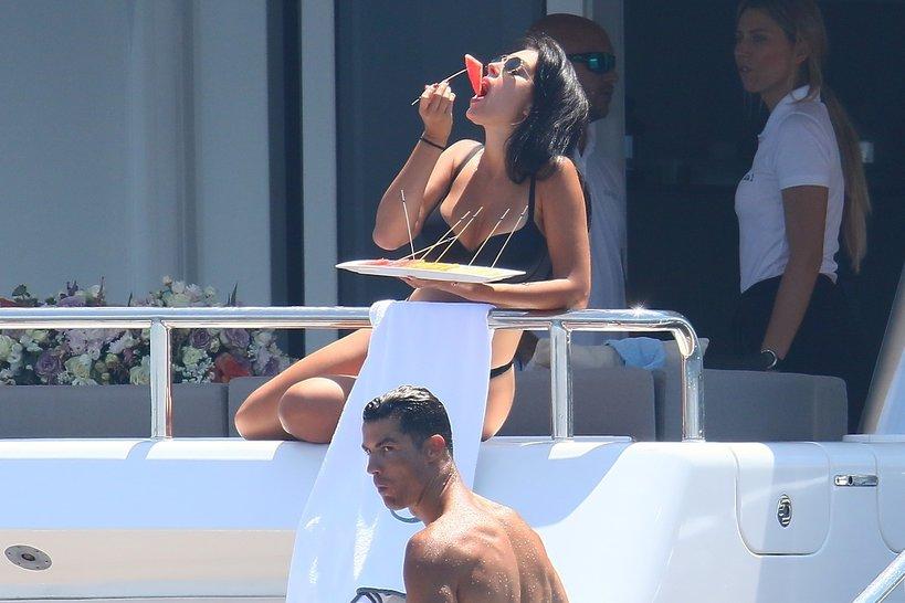 Cristiano Ronaldo, wakacje Cristiano Ronaldo, Georgina Rodriguez w bikini, dzieci Cristiano Ronaldo