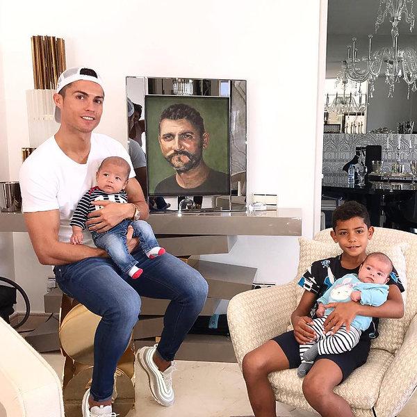 Cristiano Ronaldo zdradził imię dziecka i datę porodu Georginy Rodriguez