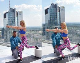 5 niezawodnych ćwiczeń na zgrabne nogi i jędrne pośladki poleca Joanna Horodyńska