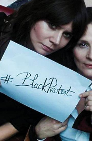Czarny Protest jamnik